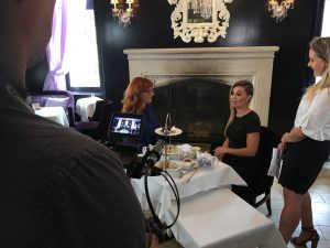 Lauren on CTV's Your Morning teaching Host Melissa How to do a proper British Accent!